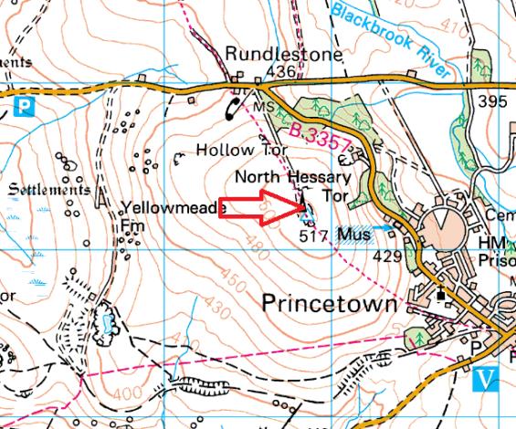 princetown-mast-map