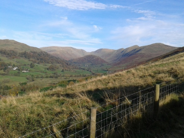 The views open up down Troutbeck Park