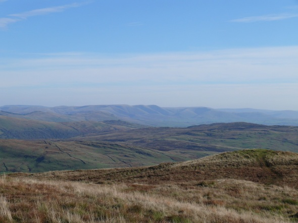 The Howgills from Sallows summit
