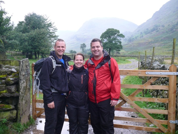 Starting out at Seathwaite Farm