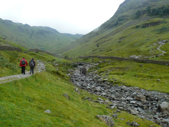 Stockley Bridge with Grains Gill, our return route, ahead