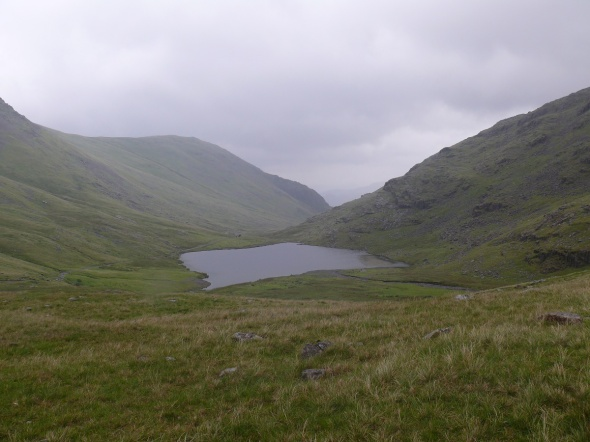 Styhead Tarn from near the start of the Corridor Route