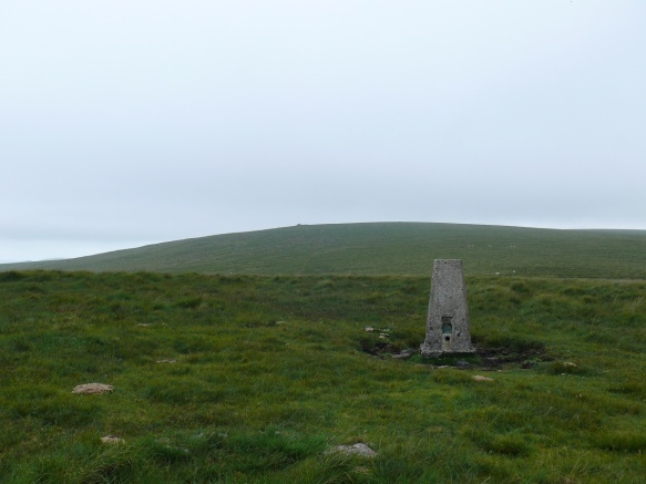 Penn Beacon trig looking to Shell Top