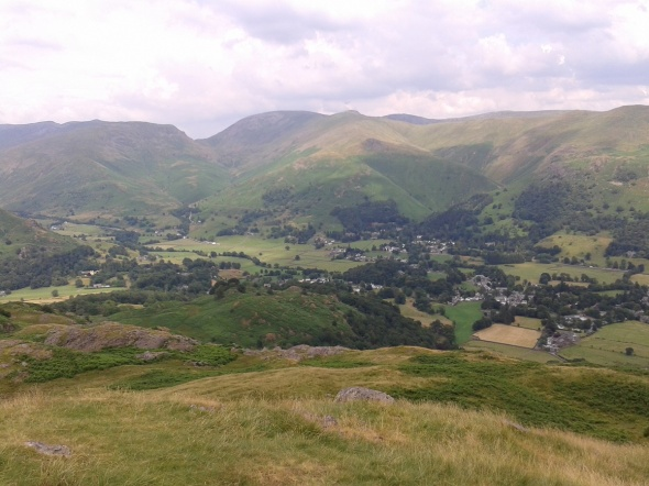 Grasmere village from Silver How