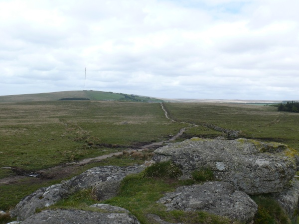 North Hessary Tor from the South one!