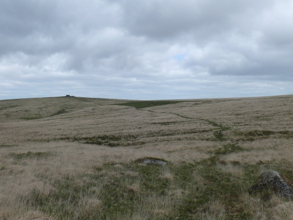 Looking back to South Hessary Tor