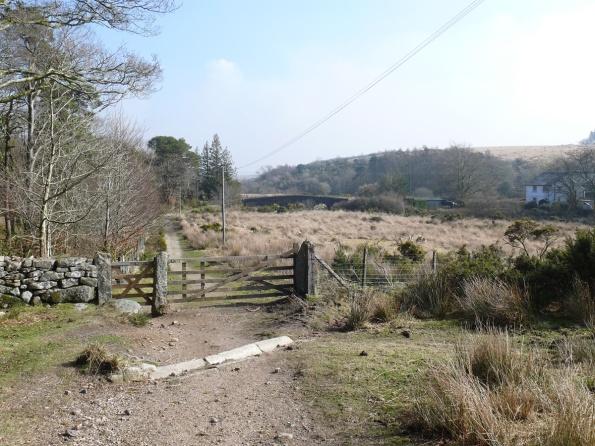 The final gate before Postbridge
