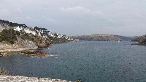 From the castle looking to Fowey