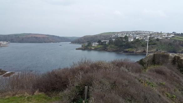 Fowey estuary and Polruan