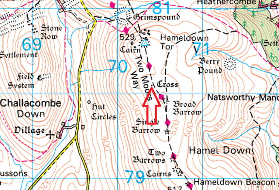 hameldown-cross-map
