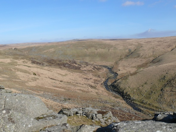 A great view of Tavy Cleave