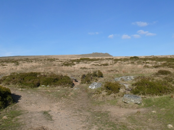 Looking back to Ger Tor