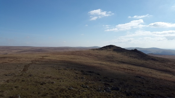 Hare Tor from Sharp Tor