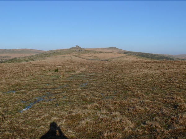 Littaford and Longaford Tors ahead