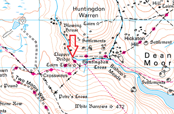 huntingdon-clapper-bridge-map