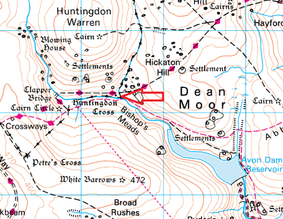 huntingdon-cross-map