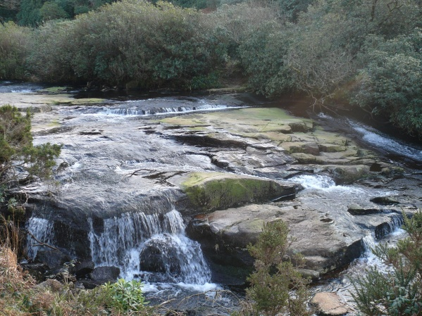 Waterfalls on the River Avon