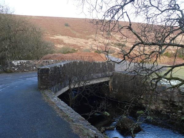 Crossing the Avon as I head up to Avon Dam