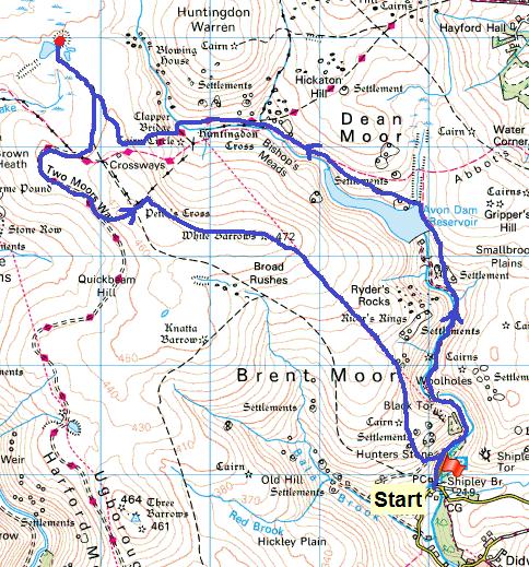 Redlake map