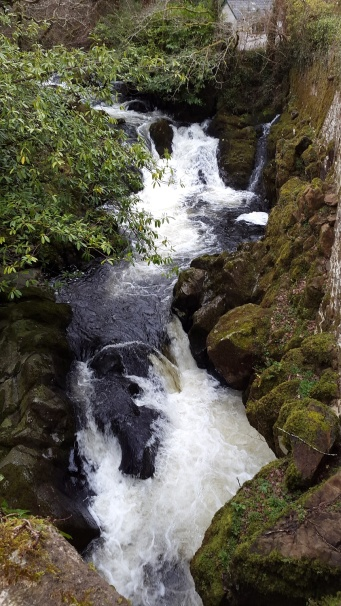 Waterfalls below Lydia Bridge