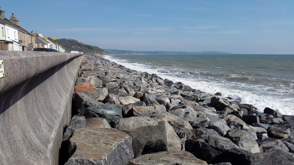 Looking the other way towards Torcross