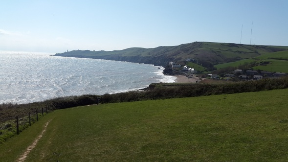 Heading down to Hallsands