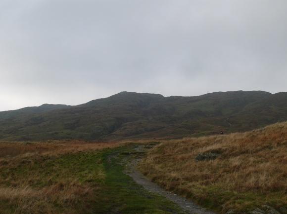 Typical, a cloud free Wansfell Pike