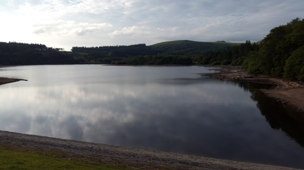 Down at the second dam at Burrator