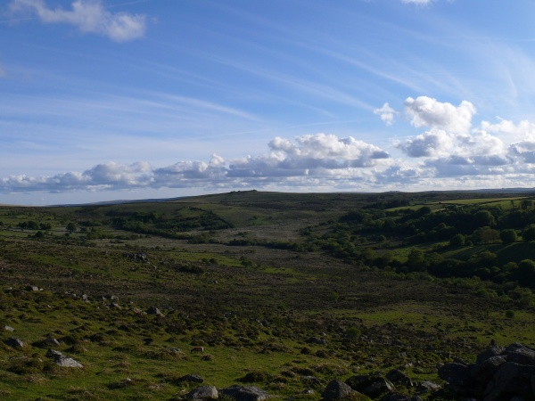 Top Tor from Holwell Tor
