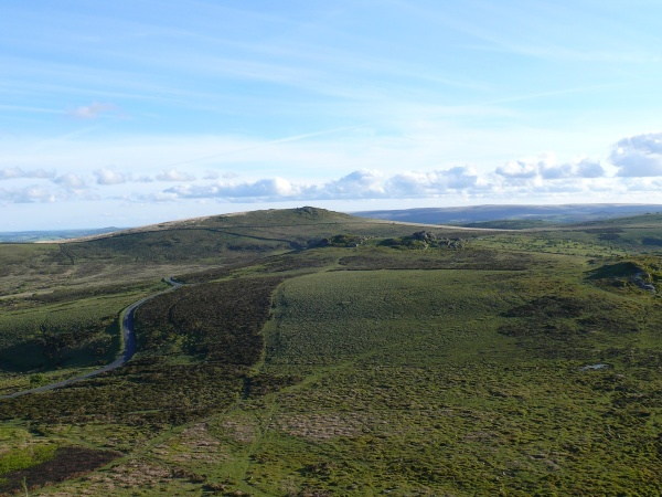 And looking to Rippon Tor from Haytor