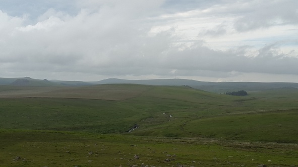 Zooming in with Great Mis Tor in the distance