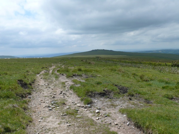 And ahead to White Tor