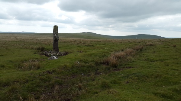 And again with Cox Tor behind
