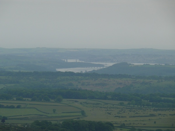Bit of zoom to the River Tamar and the bridge