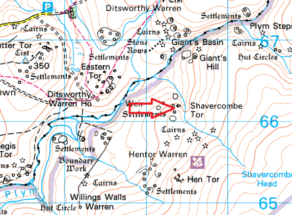 shavercombe-tor-map