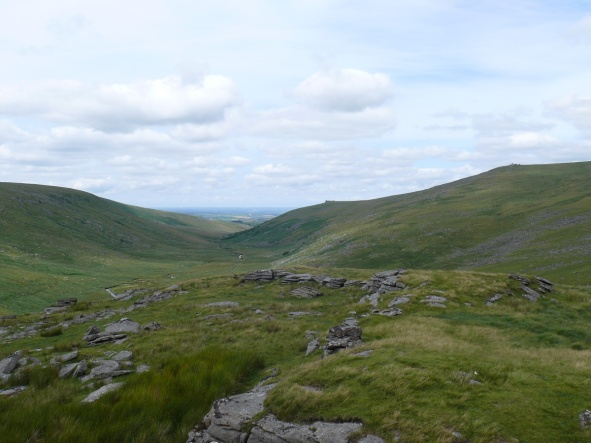 West Okemont valley from Lints Tor