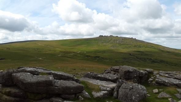 West Mill Tor from Rowtor