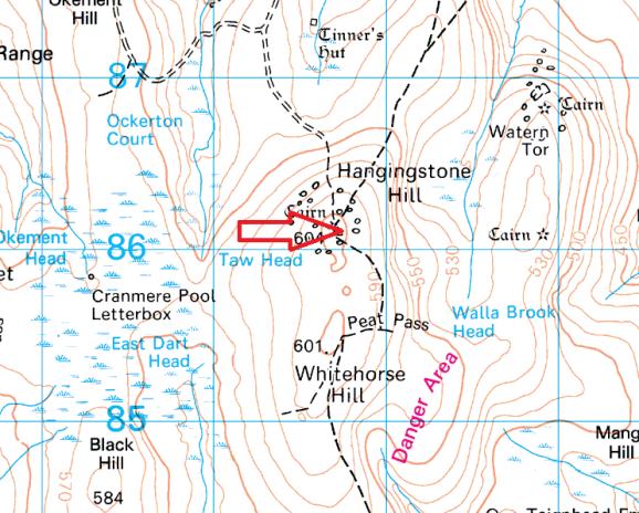 hangingstone-hill-map