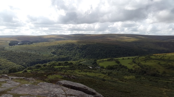 Ryders Hill from Sharp Tor