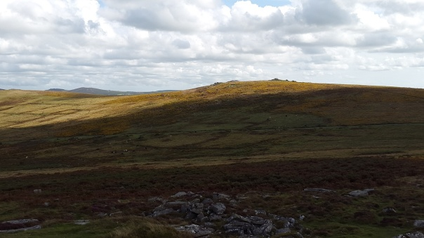 Corndon Tor from Yar Tor