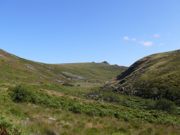 Tavy Cleave Tors from the start of Tavy Cleave
