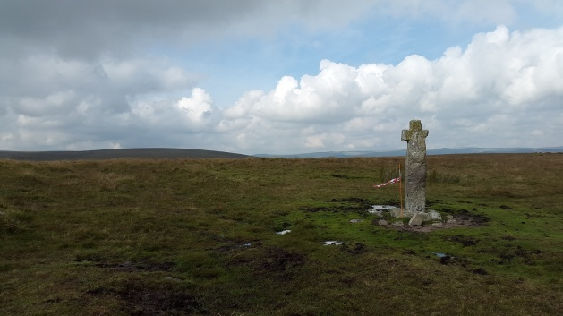 Horn's Cross with Down Ridge behind