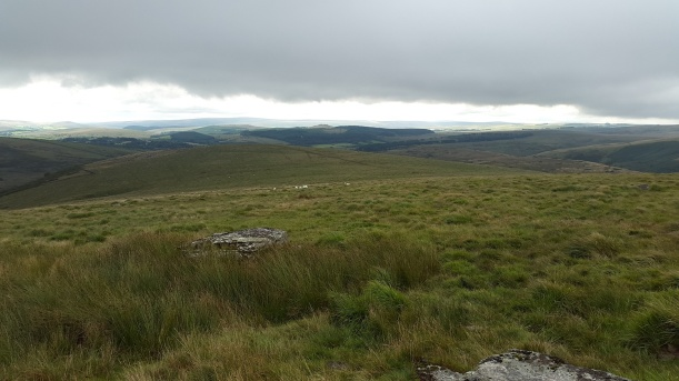 Looking back to Stannon Tor from White Ridge