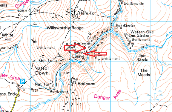 tavy-cleave-tor-map