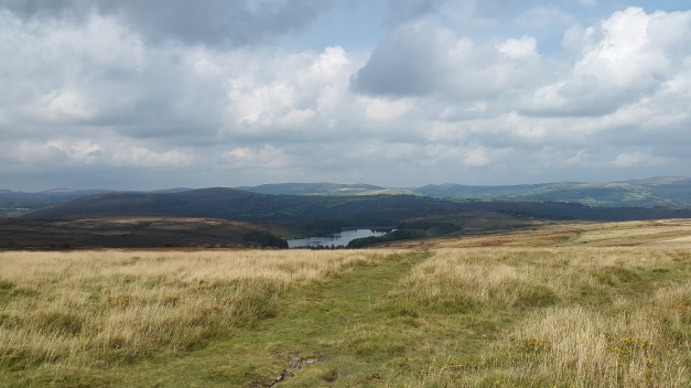 Looking down to Venford Reservoir