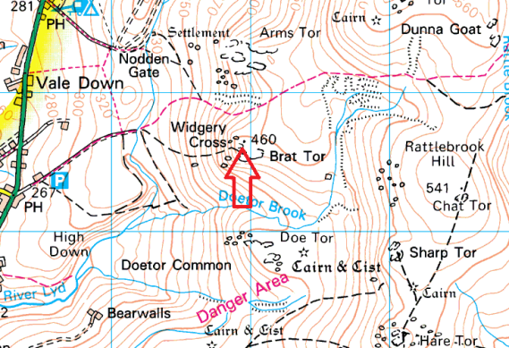 widgery-cross-map