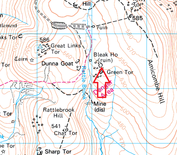green-tor-map