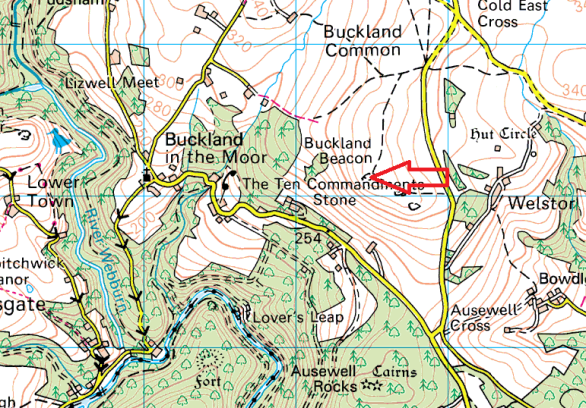 buckland-beacon-map