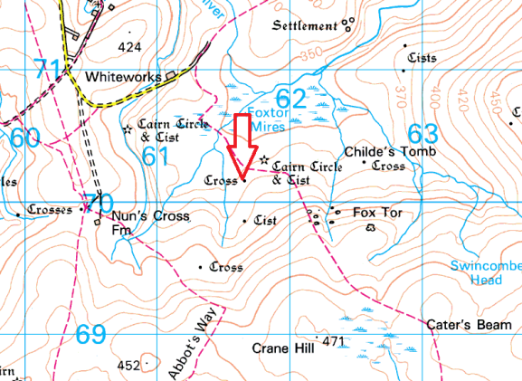 goldsmiths-cross-map