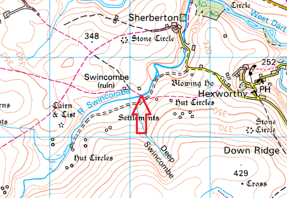 swincombe-bridge-map
